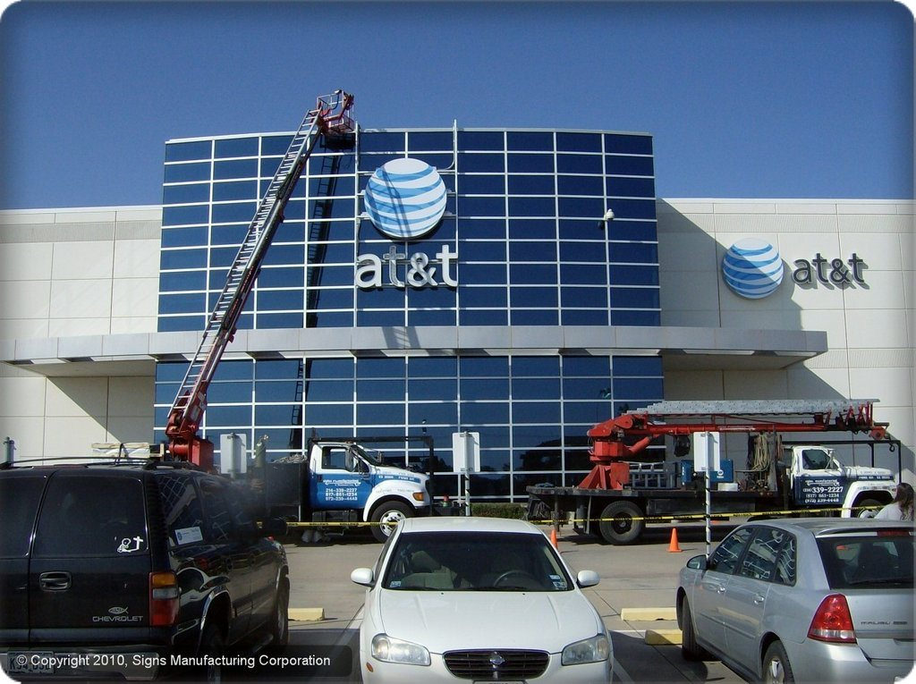 Signs Mfg Dallas Sign Service And Installation
