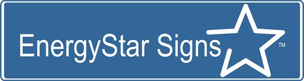 EnergyStar Signs with Logo