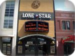 Lonestar at Sundance, Fort Worth, Texas channel letters and LED message center
