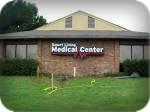 Smart Living Medical Center channel letters with backplate